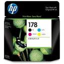 【ポイント10倍!】ヒューレット・パッカード CR281AA 【純正】 HP178 インクカートリッジ 4色