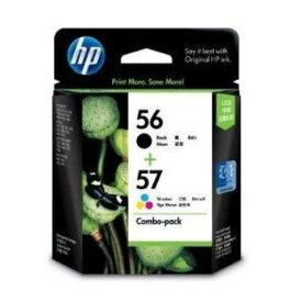 ヒューレット・パッカード CC629AA 【純正】 HP56/57 インクカートリッジ 黒・カラーパック