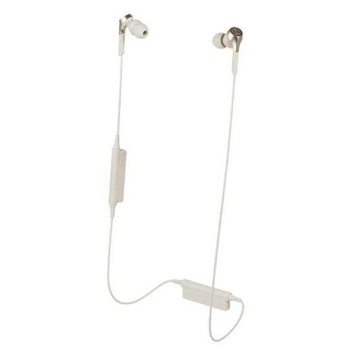 オーディオテクニカ ATH-CKS550XBT-CG Bluetooth対応ワイヤレスヘッドホン 左右一体型 シャンパンゴールド