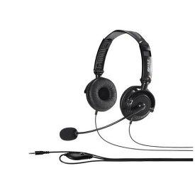 【ポイント10倍!4月9日(木)20:00〜】バッファロー BSHSHCS310BK 両耳ヘッドバンド式ステレオヘッドセット 折りたたみタイプ ブラック