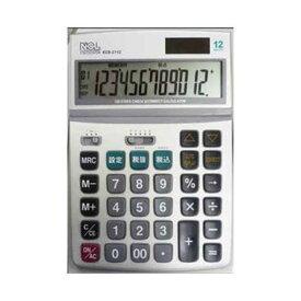 【ポイント10倍!9月20日(金)00:00〜23:59まで】ナカバヤシ ECD-2112S 電卓 デスクトップ多機能タイプ M