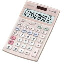 【ポイント10倍!9月20日(金)00:00〜23:59まで】カシオ JS-20WK-PK 本格実務電卓 12桁(ピンク)