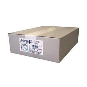 エーワン 28950 ラベルシール インクジェット ( A4 / 24面 / 四辺余白付 / 500シート ) ホワイト