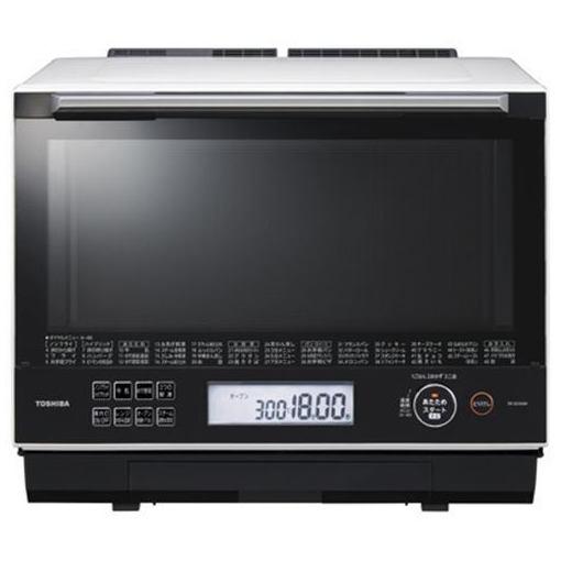 東芝 ER-SD3000-W 過熱水蒸気オーブンレンジ 「石窯ドーム」 30L グランホワイト