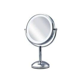 【ポイント2倍!】コイズミ KBE-3100-S 丸型3色 LED拡大鏡(両面卓上大)5倍