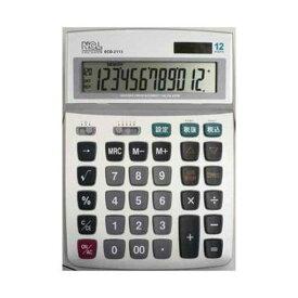ナカバヤシ ECD-2113S 電卓 デスクトップ多機能タイプ L