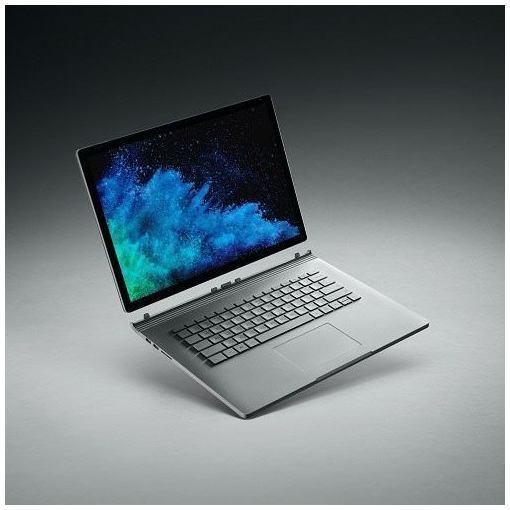 【ポイント10倍!5月11日(土)00:00〜5月21日(火)1:59まで】マイクロソフト FVH-00010 Surface Book 2 15インチ Core i7/16GB/1TB dGPUモデル シルバー