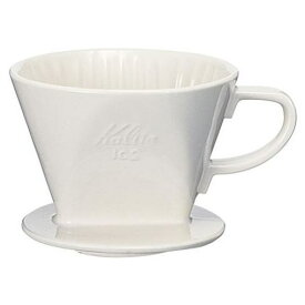 カリタ 102-ロト 陶器製コーヒードリッパー (2〜4人用)