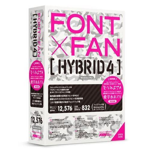 【全商品ポイント10倍】ポータル・アンド・クリエイティブ FONT x FAN HYBRID 4 FF08R1