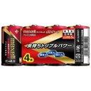 【ポイント10倍!】日立マクセル アルカリ乾電池「ボルテージ」 単1形 (4本シュリンクパック) LR20(T) 4P