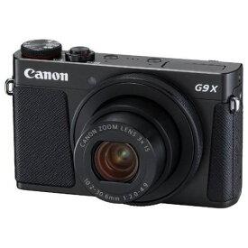 【ポイント10倍!】キヤノン PSG9XMK2BK コンパクトデジタルカメラ PowerShot(パワーショット) G9 X Mark II(ブラック)