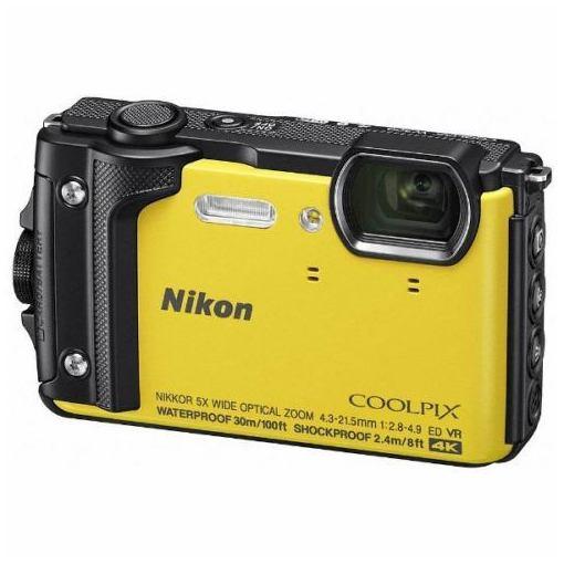 ニコン W300YW デジタルカメラ COOLPIX(クールピクス) W300(イエロー)