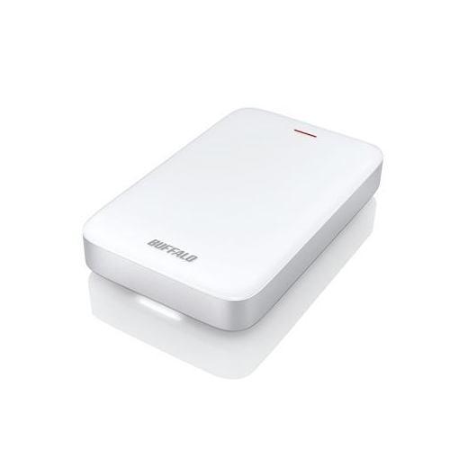 バッファロー HD-PA1.0TU3-C ミニステーション Thunderbolt&USB3.1(Gen1)/3.0対応 ポータブルHDD 1TB