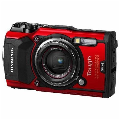 【ポイント2倍!3月21日(木)20:00〜】オリンパス TG-5-RED デジタルカメラ「Tough TG-5」(レッド)