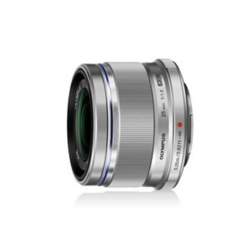 オリンパス 25mm F1.8 SLV 高画質標準レンズ M.ZUIKO DIGITAL シルバー