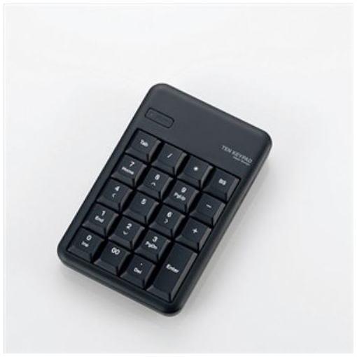 【ポイント5倍!3月23日(土)00:00〜3月26日(火)01:59】エレコム TK-TBM016BK Bluetooth ワイヤレステンキーパッド ブラック