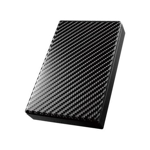 IOデータ HDPT-UT2DK USB 3.0/2.0対応ポータブルハードディスク「高速カクうす」 カーボンブラック 2TB