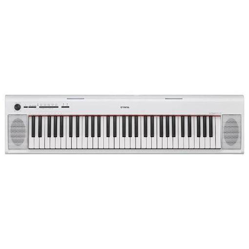 【ポイント10倍!10/19(金)20時〜10/23(火)23:59まで】ヤマハ NP-12WH 電子キーボード 「piaggero(ピアジェーロ)」 61鍵盤 ホワイト