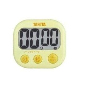 TANITA(タニタ)TD-384-YL デジタルタイマー でか見えタイマー (イエロー)