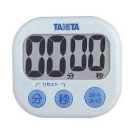 TANITA(タニタ)TD-384-WH デジタルタイマー でか見えタイマー(ホワイト)