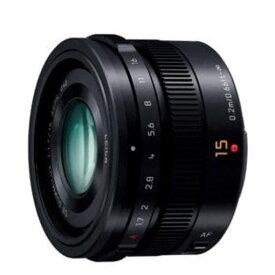 【ポイント10倍!】パナソニック(Panasonic) パナソニック 交換用レンズ LEICA DG SUMMILUX 15mm F1.7 ASPH. ブラック