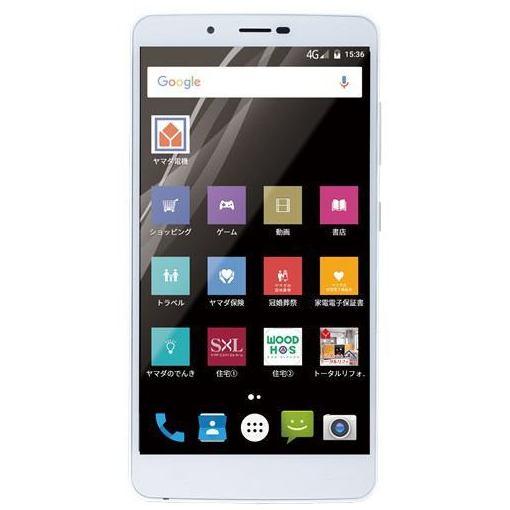 ヤマダ電機オリジナルモデル EP-171AC/G Android搭載SIMフリースマートフォン EveryPhone AC ゴールド