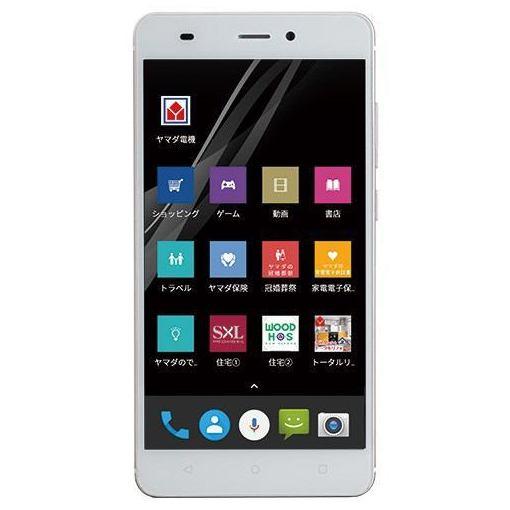 ヤマダ電機オリジナル EP-172BZ/G Android搭載SIMフリースマートフォン EveryPhone BZ ゴールド