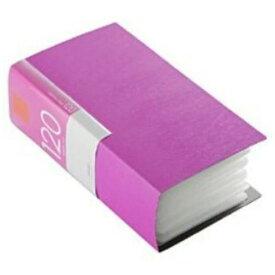 バッファロー BSCD01F120PK CD/DVDファイル ブックタイプ 120枚収納 ピンク