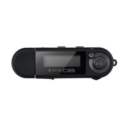グリーンハウス GH-KANADB8-BK 乾電池対応MP3プレーヤー KANA DB ブラック