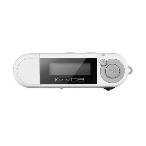 グリーンハウス GH-KANADB8-WH 乾電池対応MP3プレーヤー KANA DB ホワイト
