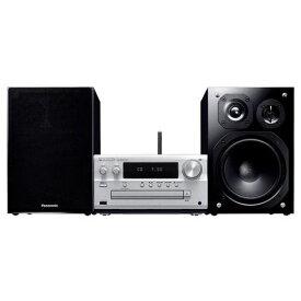 パナソニック SC-PMX150-S 【ハイレゾ音源対応】 CDステレオシステム シルバー CDコンポ
