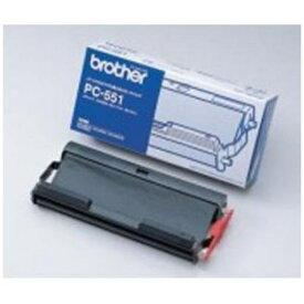インクリボン ブラザー インクフィルム リボンカートリッジ PC551
