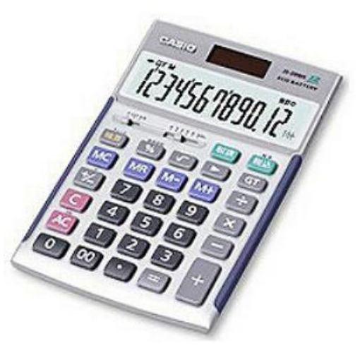 電卓 検算機能/税計算/12桁/5年間メーカー保証商品