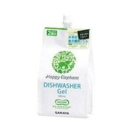 【ポイント10倍!】サラヤ HR-800 食器洗い機専用 ジェル洗剤 (詰め替え用 800ml)