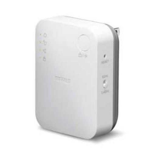 バッファロー WEX-733DHP 11ac/n/a/g/b対応 無線LAN中継機 ハイパワーモデル