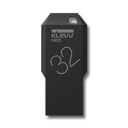 ESSENCORE U032GUR3-NE-JP USBメモリ USB3.0対応 KLEVV NEO Black Edition 32GB ブラック
