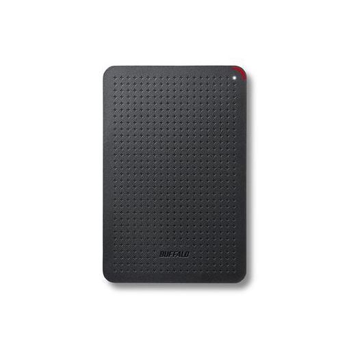 バッファロー SSD-PL480U3-BK 耐振動・耐衝撃 省電力設計 USB3.1(Gen1)対応 小型ポータブルSSD 480GB ブラック