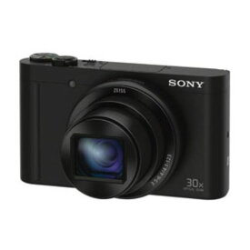 ソニー DSC-WX500-B デジタルカメラ Cyber-shot(サイバーショット) ブラック