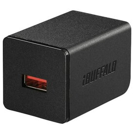バッファロー BSMPA2402P1BK 2.4A出力 AC-USB急速充電器 1ポートタイプ ブラック