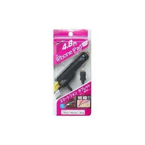 カシムラ KL-29 DC充電器 USB 1ポート 4.8A LN