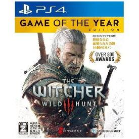 ウィッチャー3 ワイルドハント ゲームオブザイヤーエディション PS4 (PS4ゲームソフト)PLJS-74015