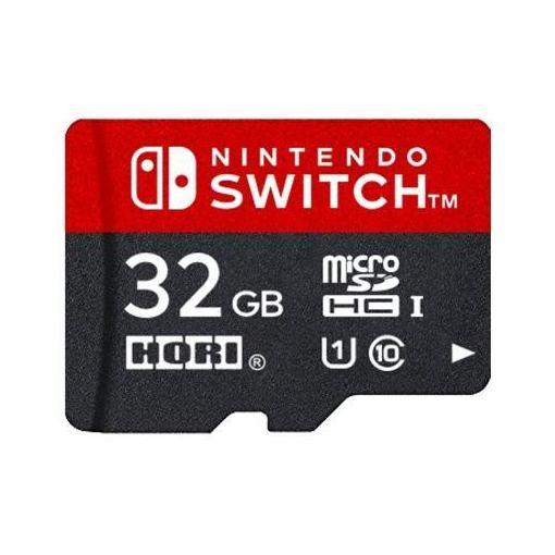 【ポイント10倍!5月25日(土)0:00〜5月28日(火)9:59まで】マイクロSDカード32GB for Nintendo Switch
