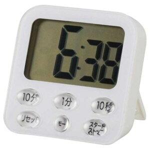 オーム電機 COK-T140-W 時計付デジタルタイマー ホワイト