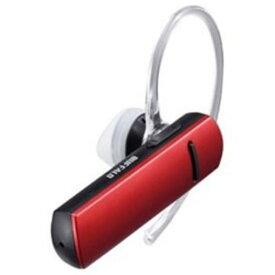 【ポイント10倍!4月9日(木)20:00〜】バッファロー BSHSBE200RD Bluetooth4.0対応 片耳ヘッドセット 音声&通話対応 レッド