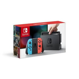 【ポイント5倍!】【キャンペーンクーポン付】任天堂 Nintendo Switch Joy-Con(L) ネオンブルー/(R) ネオンレッド HAC-S-KABAA