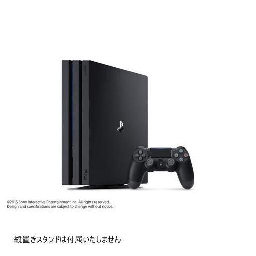 ソニー PlayStation4 Pro ジェット・ブラック 1TB CUH-7100BB01