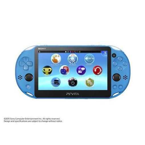 【全品ポイント5倍 7/13 10:00〜7/21 01:59】PlayStation Vita Wi-Fiモデル アクア・ブルー