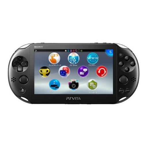 【全品ポイント5倍 7/13 10:00〜7/21 01:59】PlayStation Vita Wi-Fiモデル ブラック (PCH-2000シリーズ) PCH-2000ZA11