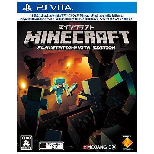 【ポイント10倍!10/19(金)20時〜10/23(火)23:59まで】ソニー Minecraft: PlayStation Vita Edition VCJS-10010