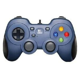 F310r USBゲームパッド XInput/DirectInput対応 ダークブルー